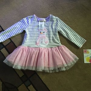 Other - 12 month brand new girl long sleeve shirt